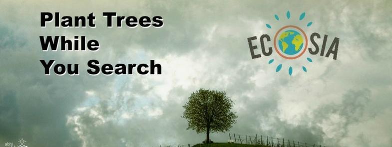 Ecosia Bomen Planten vanuit je Stoel Blog Thumbnail | Rowena Goes Ape