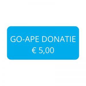 Go-Ape Donatie € 5,00