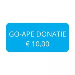 Go-Ape Donatie € 10,00