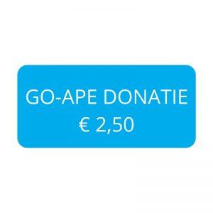 Go-Ape Donatie € 2,50