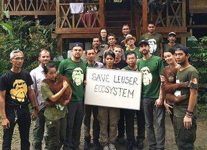 Gaurdians of Leuser Blog | Rowena Goes Ape (Leonardo DiCaprio)