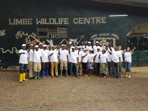 Sierra Leone Blog   Rowena Goes Ape (1) credits LWC