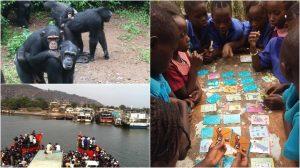 Sierra Leone Een Been | Rowena Goes Ape (3-4-5)