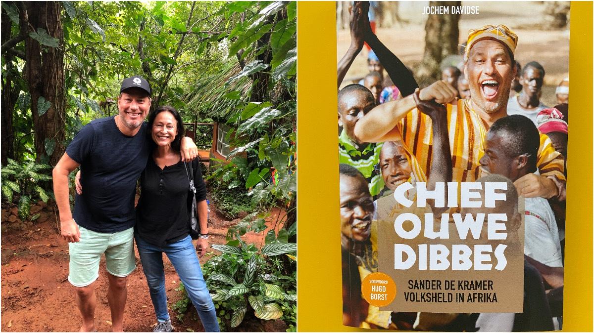 Rowena Goes Ape met Sander de Kramer in Tacugama Chimpanzee Sanctuary