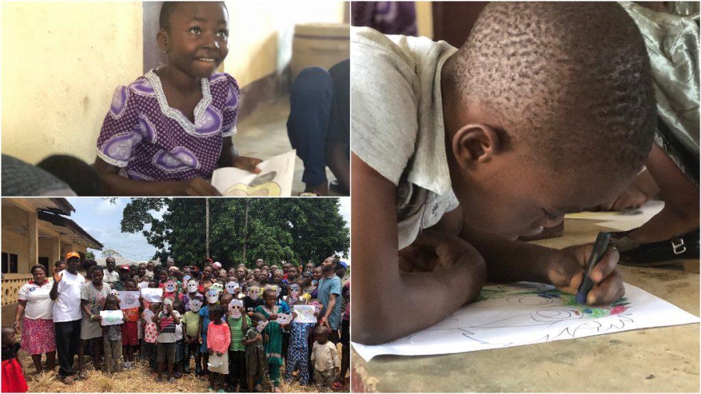 Groen Project Limbe in Kameroen Blog   Rowena Goes Ape (5-6-*)